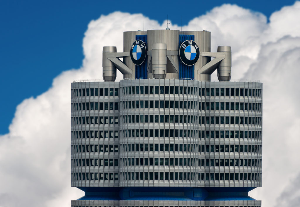 The tower of the BMW